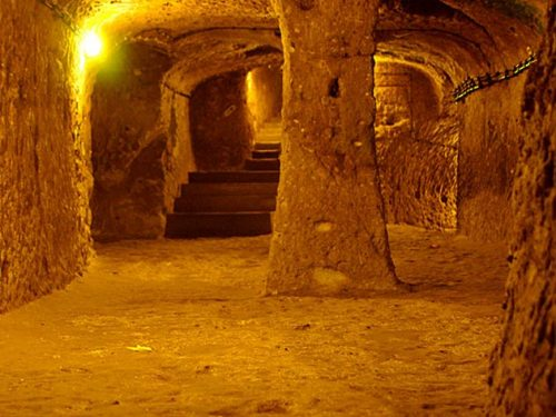 podzemni tuneli/hodnici