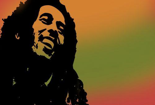 Bob Marley ilustracija