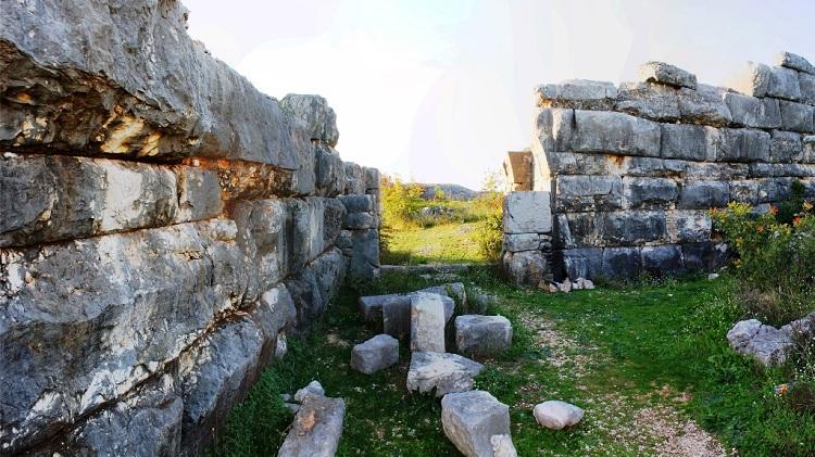 Zidine grada Daorson