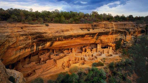 Mesa Verde kanjon