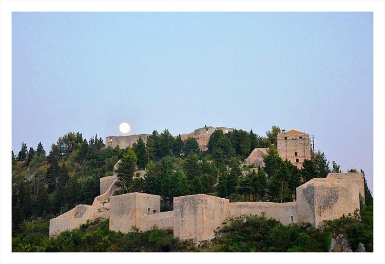 Zidine starog grada Vidoški