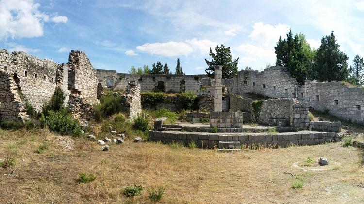 Zidine starog grada
