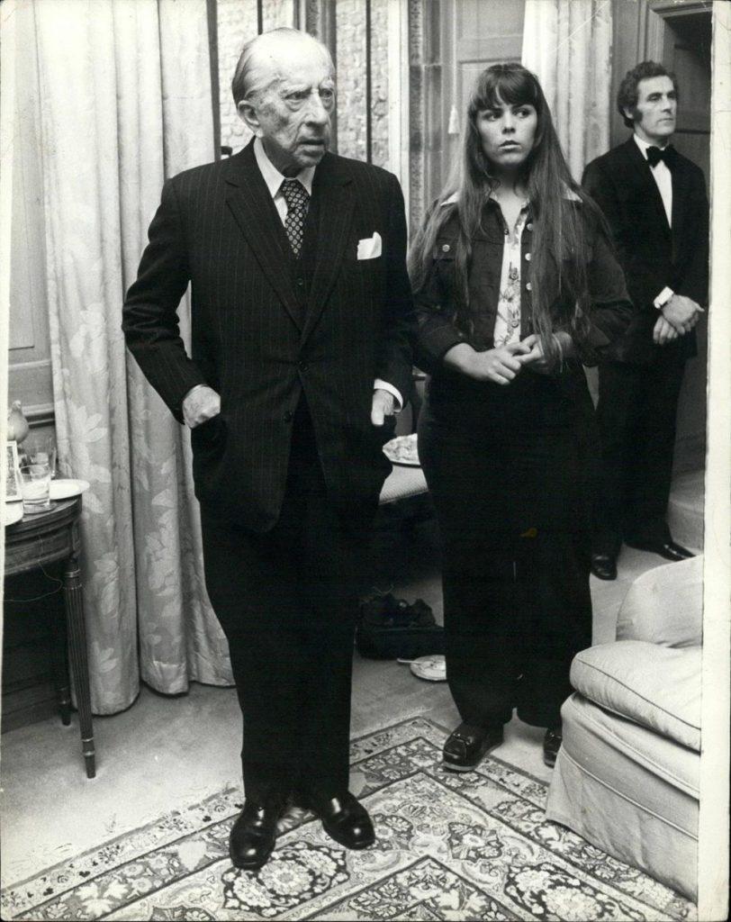 Džej Pol Geti i njegova mlada žena