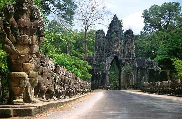 Angkor hram