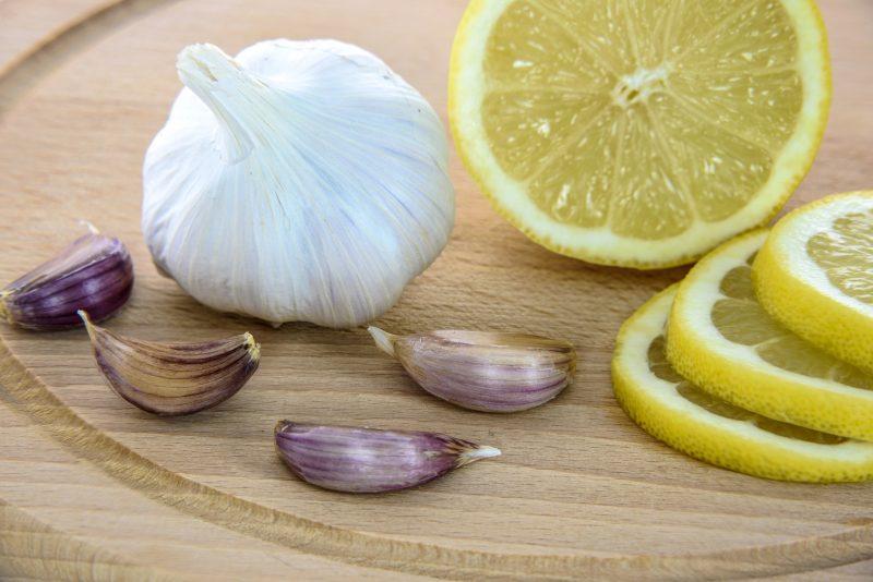 limun, bijeli luk