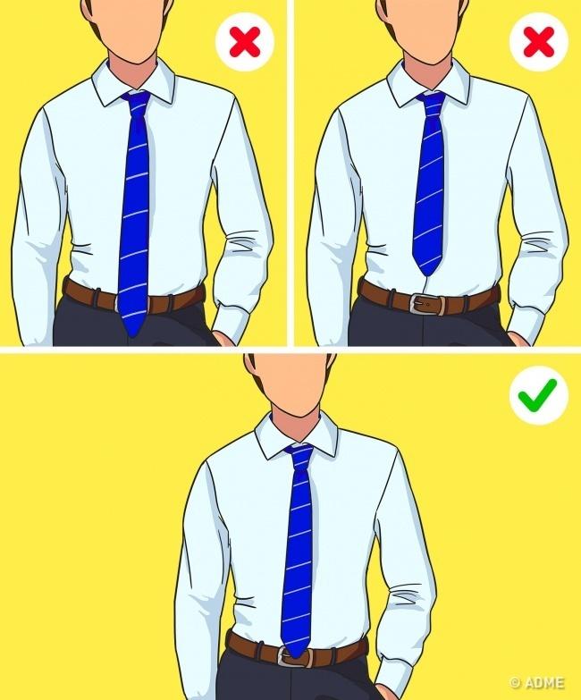 kravata ilustracija