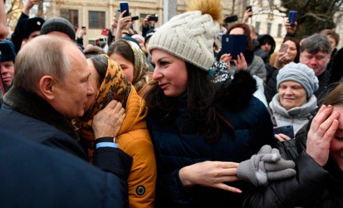 Putin sa građanima