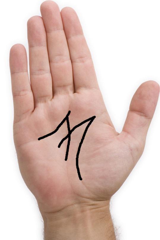 M na dlanu